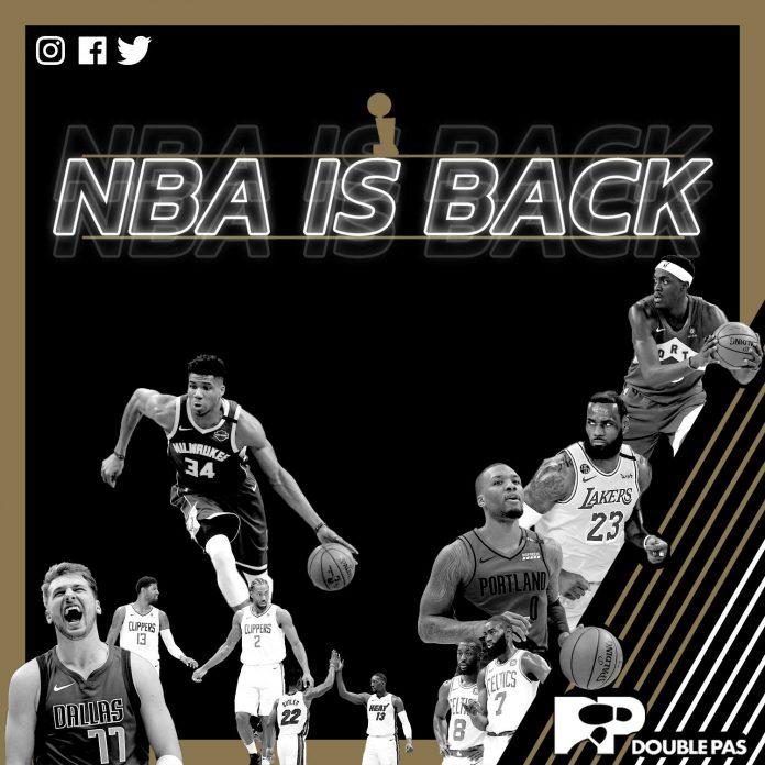 NBA reprend ses droits basketball avec DoublePas