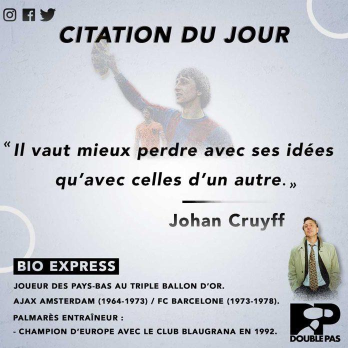 Johann Cruyff une légende du football