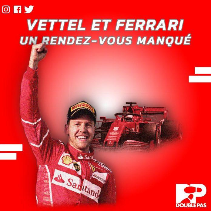 Pilote allemand Sebastian Vettel et la Scudera Ferrari