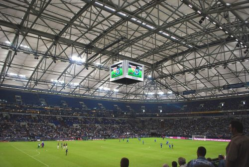 Le Stade de Schalke 04. Photo pour DoublePas