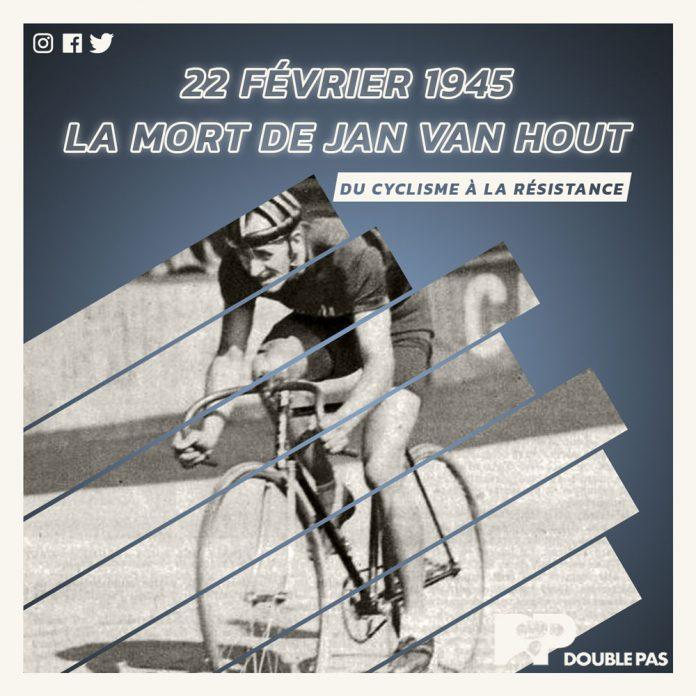 Le cycliste Jan van Hout. Article de Double Pas pour Doublepas.fr